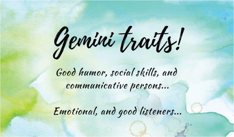 Gemini Traits & Characteristics | Ask Astrology Blog