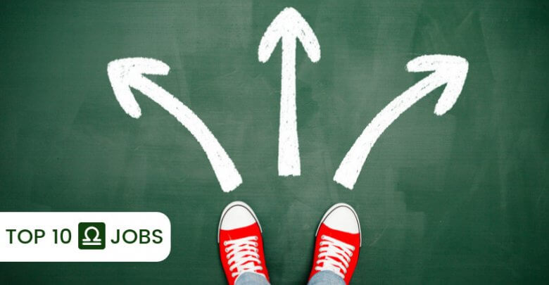 top 10 libra jobs