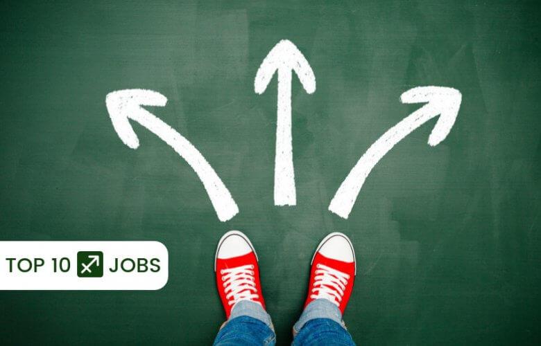 top 10 sagittarius jobs