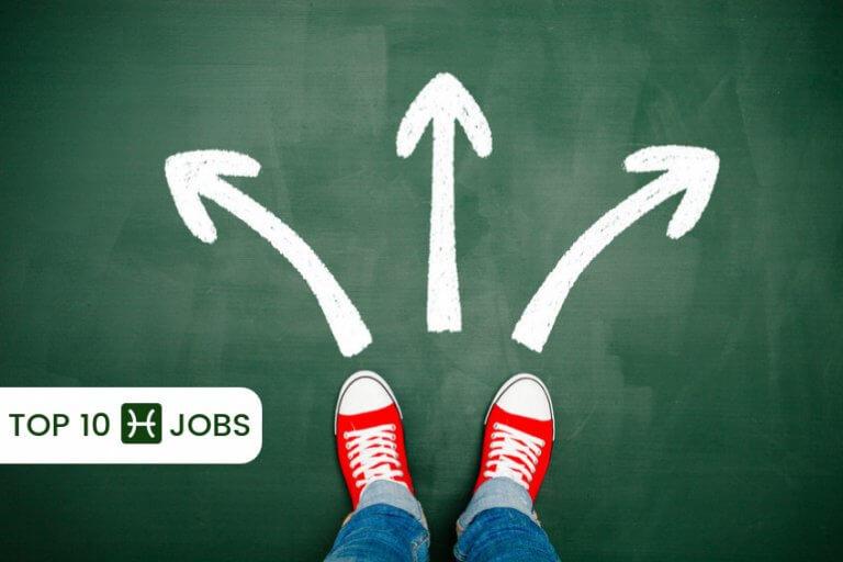 top 10 pisces jobs