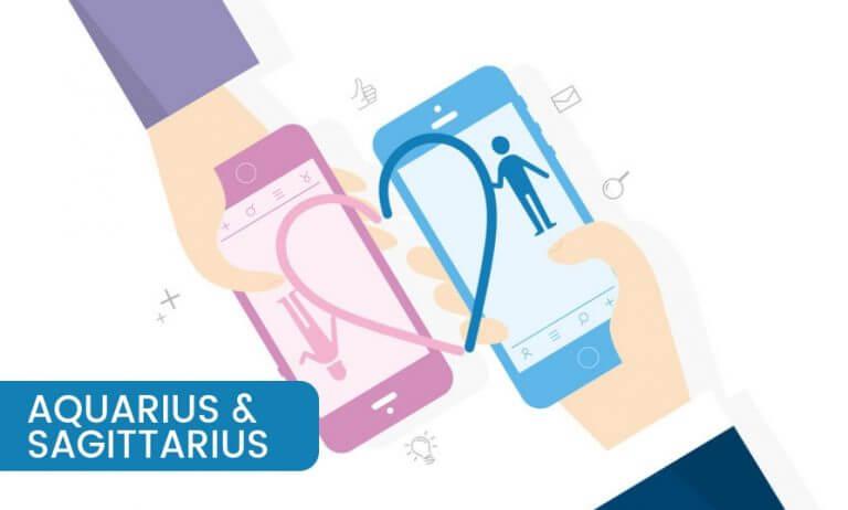 Aquarius and Sagittarius Compatibility