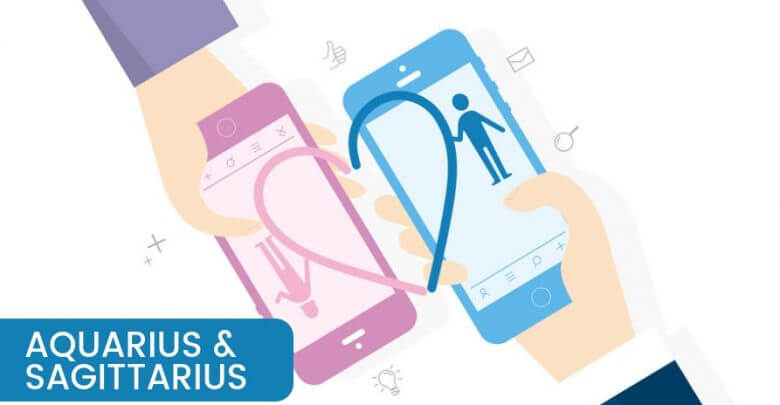 Aquarius and Sagittarius Compatibility