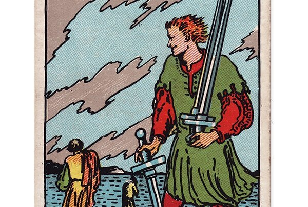 5 of swords Rider Waite tarot