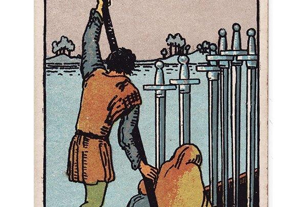 6 of swords Rider Waite tarot