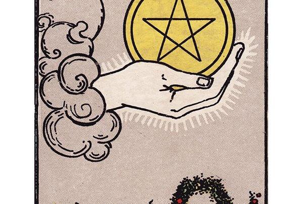 Ace of pentacles Rider Waite tarot