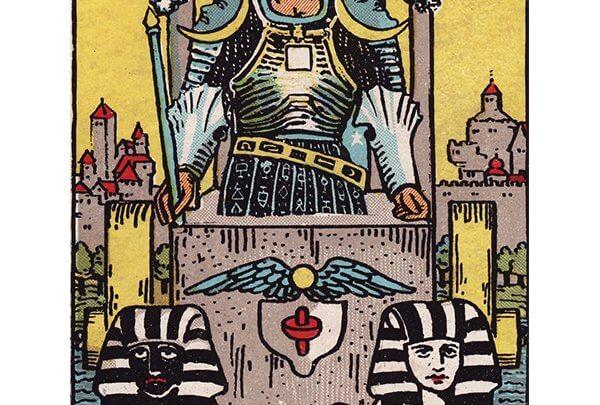 The Chariot Tarot Card Rider-Waite