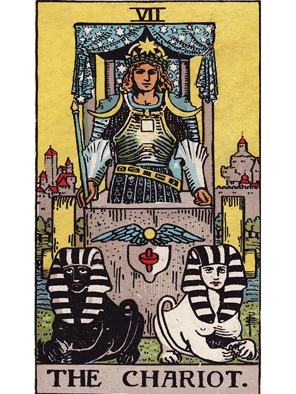 The Chariot Tarot Card Rider-Waite
