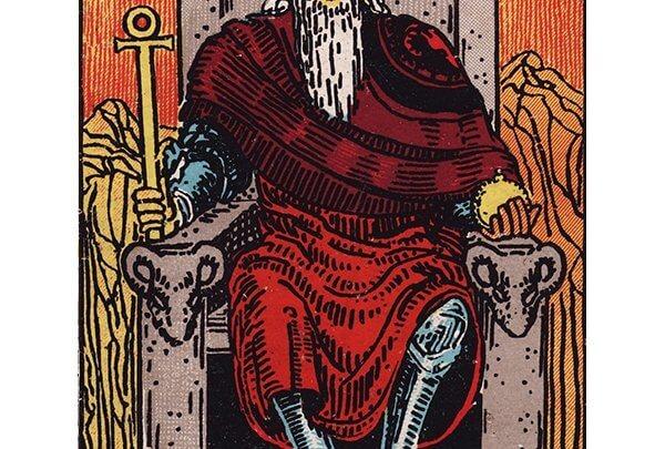 The Emperor Card Rider-Waite