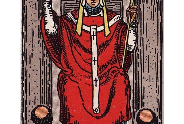 hierophant tarot card Rider-Waite