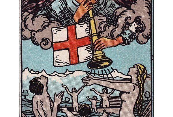 Judgement tarot card Rider-Waite