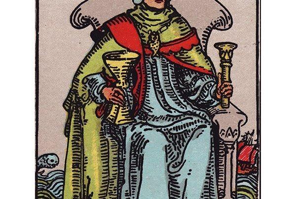 King of cups Rider Waite tarot