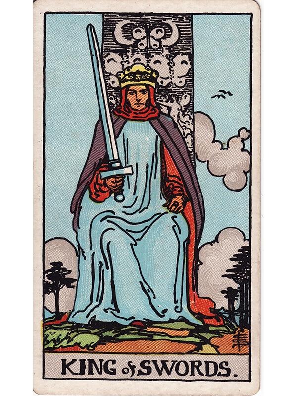 King of swords Rider Waite tarot