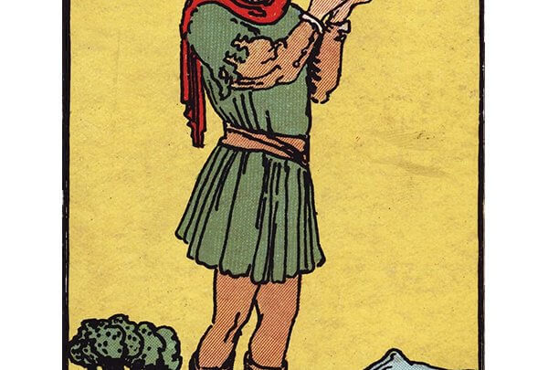 Page of pentacles Rider Waite tarot