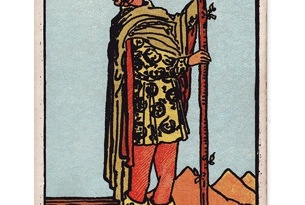 Page of wands Rider Waite tarot