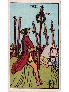 Six of Wands Tarot Card