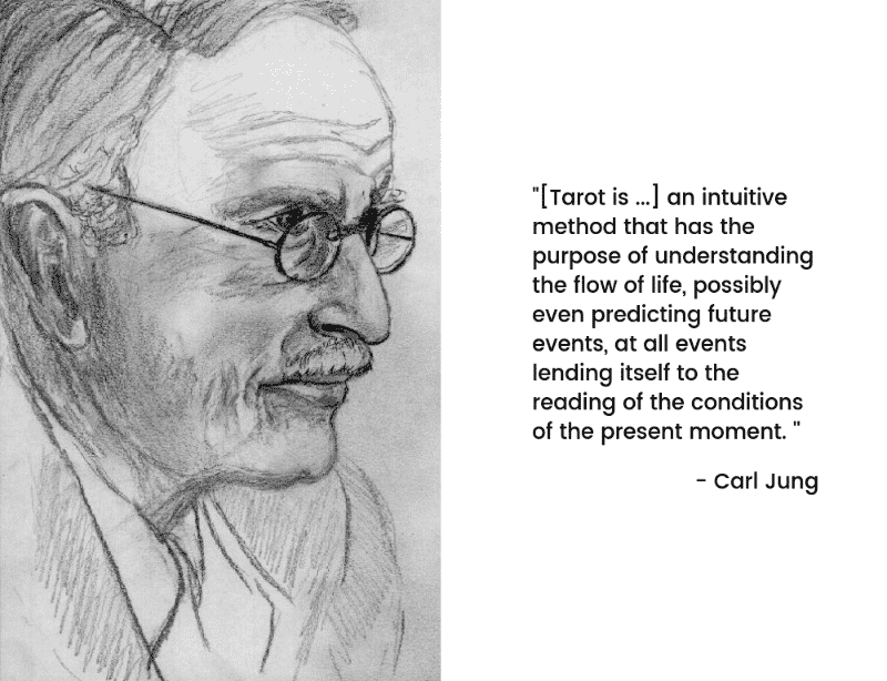 Carl Jung tarot quote
