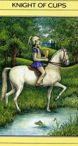 Knight of Cups Mythic Tarot card