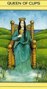 Queen of Cups Mythic Tarot card