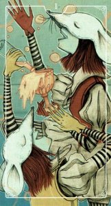 Ostara Tarot 1 of Cups