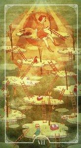 Ostara Tarot 7 of Wands