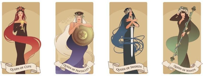 Queens Tarot