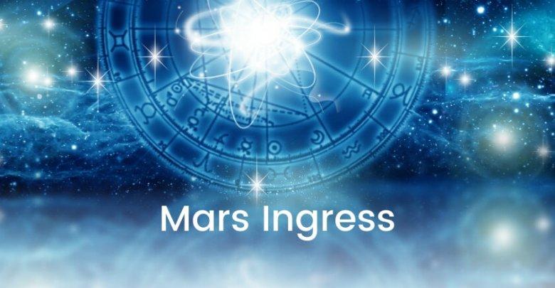 Mars Ingress | Ingress in Astrology| Ask Astrology Blog