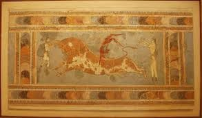 Bull leaping in Knossos