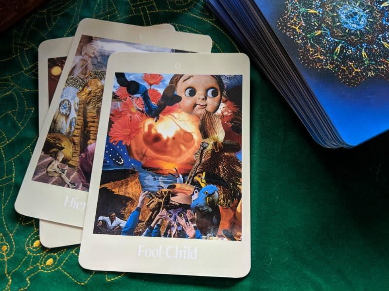 Fool-Child Tarot Card