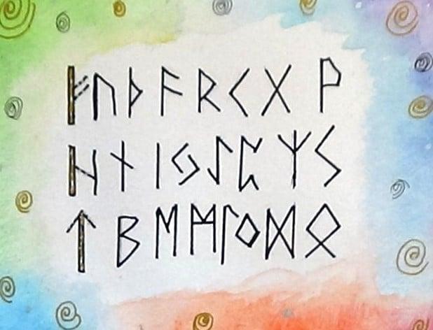 older norse runes