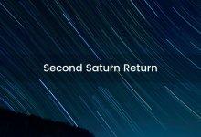 Second Saturn Return