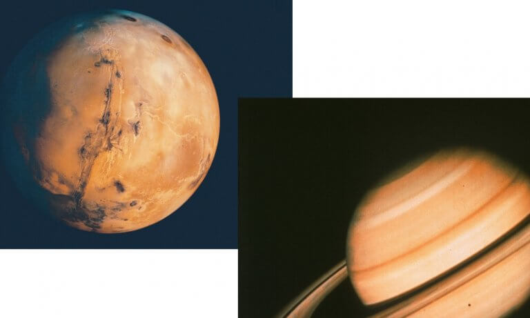 Mars Opposes Saturn