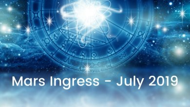 Mars Ingress July 2019
