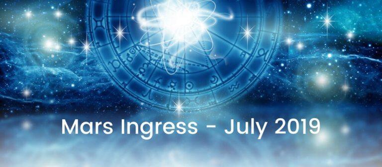 Mars Ingress July 2019