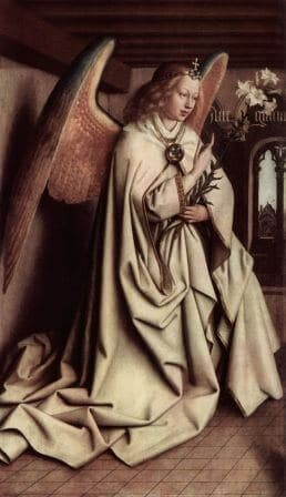 Gabriel by Van Eyck