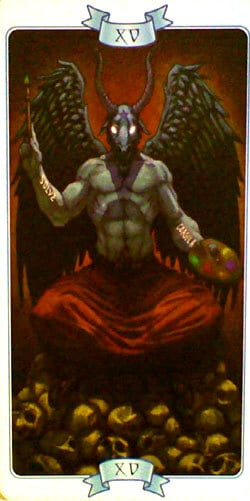 Law of Attraction tarot The Devil