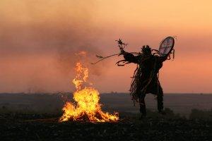 shaman's sacred fire
