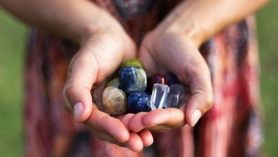 Powers of Crystals and Gemstones