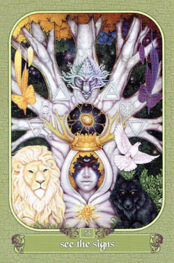 See The Signs tarot card