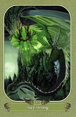 Stay Strong tarot card