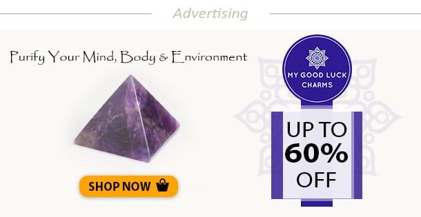 Healing Egyptian Crystal Pyramid