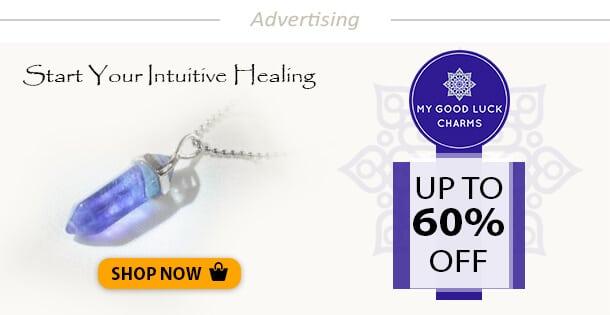 Fluorite Healing Crystal Pendulum Necklace