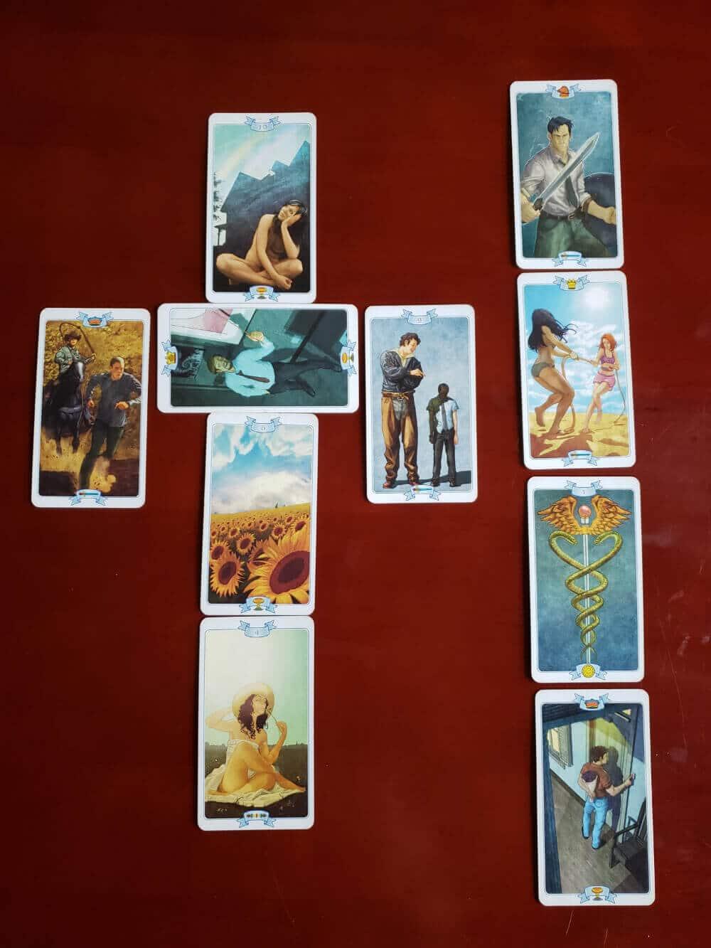 10-Card Tarot Reading