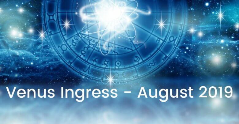 Venus Ingress August 2019