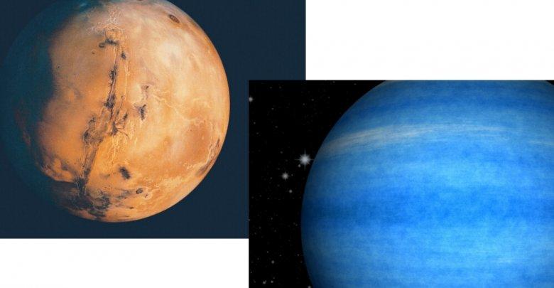 Mars Opposes Neptune