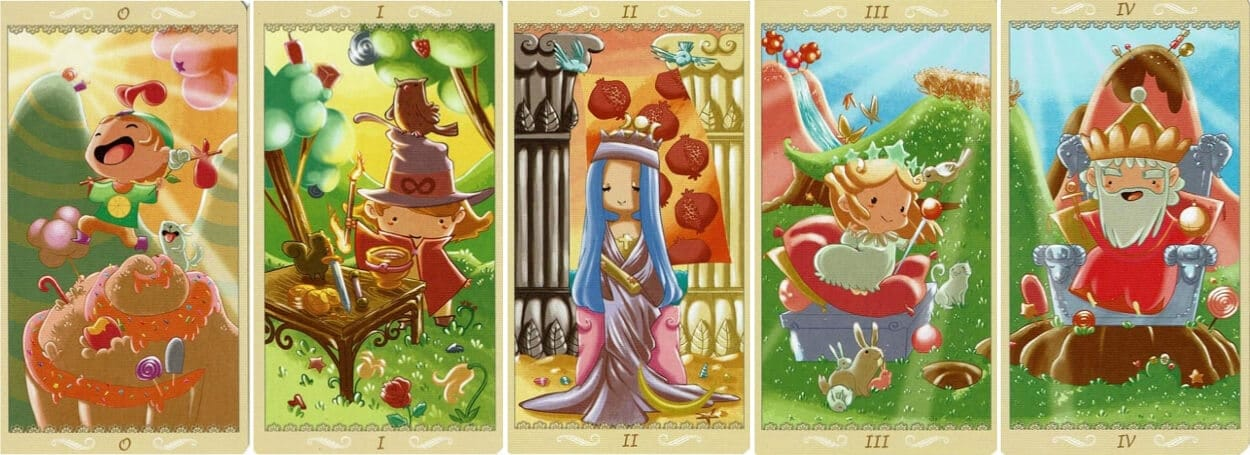 Happy Tarot Major Arcana 1