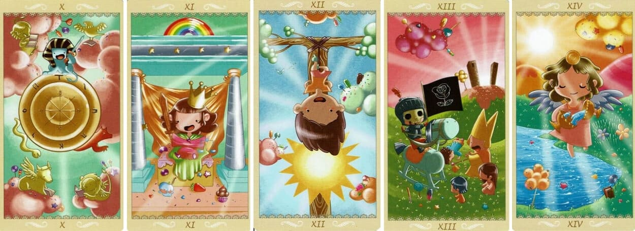 Happy Tarot Major Arcana 3