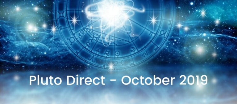 Pluto Goes Direct October 2019