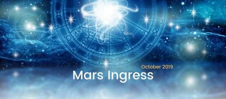 Mars Ingress October 2019
