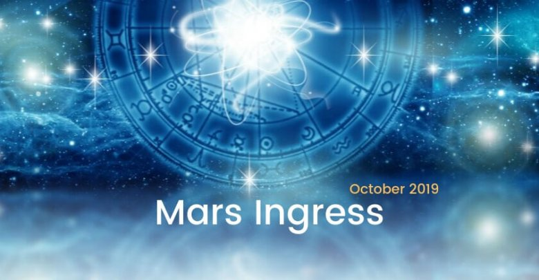 Mars Ingress October 2019