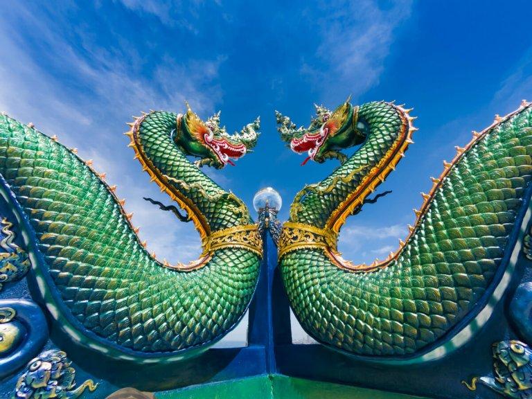 Feng Shui Green Dragon